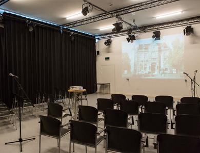 Presentatieopstelling studio west