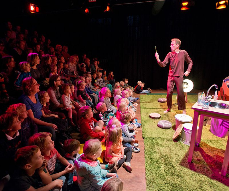 Theatervoorstelling in onze theaterzaal