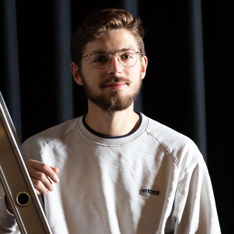 Portret Niels Gastheer
